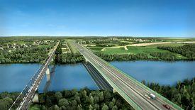 W Polsce szlak Via Carpatia będzie miał długość około 710 km.