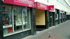 Bank Millennium zwiększa rezerwę o 150 mln złotych.