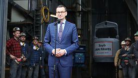 Mateusz Morawiecki uroczyście otworzył pierwszą od 25 lat nową kopalnię węgla.