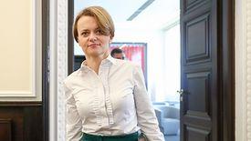Jadwiga Emilewicz, szefowa Ministerstwa Przedsiębiorczości i Technologii, lobbuje za fuzją Orlenu i Lotosu