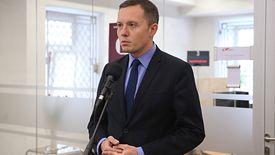 Tomasz Zdzikot, nowy szef Poczty Polskiej. Na jego barkach spoczywają zadania związane z głosowaniem korespondencyjnym.
