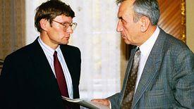 Leszek Balcerowicz i Tadeusz Mazowiecki. To ich reformy zmieniły Polskę w 1989 roku