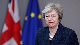 Theresa May po spotkaniu nie miała najlepszego humoru