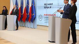 Konferencja prasowa premiera Mateusza Morawieckiego w sprawie przekształcenia OFE w IKE.