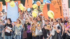 Kwietniowy strajk nauczycieli