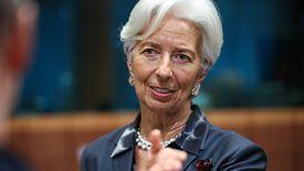 """- Epidemia koronawirusa wnosi """"nowy element niepewności"""" co do wzrostu globalnej gospodarki - przyznaje Christine Lagarde"""