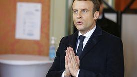 Emmanuel Macron apelował do rodaków, aby zostali w domach.
