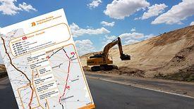 102 km A1 wciąż są w budowie.