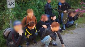 12 Wietnamczyków przewoził samochodem osobowym 33-letni Słowak