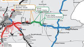 Firma Intercor wybuduje jeden z odcinków drogi A2 na wschód od Warszawy