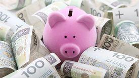 Polacy coraz mniejszą część dochodów odkładają do skarbonki