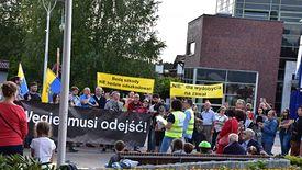 Mieszkańcy Imielina kilkakrotnie protestowali przeciwko górniczej specustawie