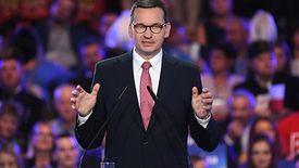 Premier Morawiecki obiecał podczas konwencji PiS 2600 zł płacy minimalnej w przyszłym roku