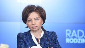 Szefowa MRPiPS Marlena Maląg.