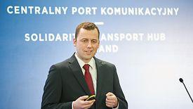 Mikołaj Wild od listopada 2019 pełnił obowiązki prezesa Centralnego Portu Komunikacyjnego.