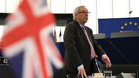 Brexit. Na zdj. Jean-Claude Juncker,przewodniczący Komisji Europejskiej