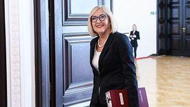 Joanna Kopcińska, rzecznik rządu.