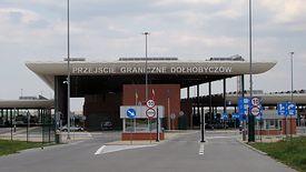 Polsko-ukraińskie przejście graniczne w Dołhobyczowie.