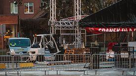 Scena, na której doszło do ataku na prezydenta Gdańska Pawła Adamowicza