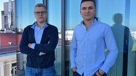 Aliaksander Horlach i Evgeny Chamtonau - założyciele PayUkraine.