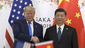 Amerykański prezydent Donald Trump i przywódca Chin Xi Jinping