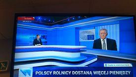 Według informacji z paska w TVP są już rozstrzygnięcia ws. polskich rolników