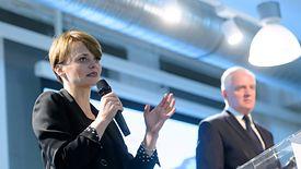 Minister Jadwiga Emilewicz broni przedsiębiorców. Zamierza podać się do dymisji, jeśli przejdzie projekt zniesienia limitu 30-krotności składek ZUS.