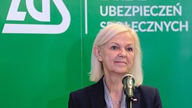Minister rodziny Bożena Borys-Szopa