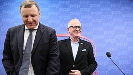 Prezes TVP Jacek Kurski i szef RMN Krzysztof Czabański.