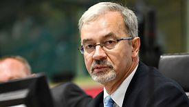 Jerzy Kwieciński nie mówi wprost, że kontrolowany przez państwo bank kupi mBank. Ale tego nie wyklucza ©European Union/Fred Guerdin