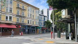 Ulica w San Francisco, Kalifornia.