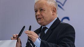 Jarosław Kaczyński podczas konwencji PiS w Katowicach pozwolił sobie na komentarz w kierunku Małgorzaty Kidawy-Błońskiej
