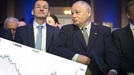 Prezes NBP wybrał najlepszy moment na skup złota do rezerw walutowych.