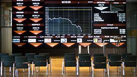 Warszawska giełda poddała się panice rynkowej.