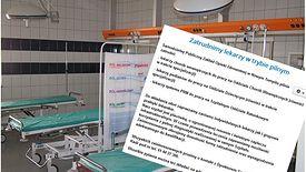 Szpital w Nowym Tomyślu szuka lekarzy od blisko pół roku. Sytuacja jest poważna.