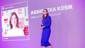 Agnieszka Kosik od października 2018 kieruje polskim oddziałem Facebooka