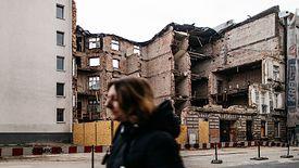 Kamienica przy ul. Rewolucji 1905 r. w Łodzi zawaliła się pod koniec października. Na szczęście nikt w niej nie mieszkał