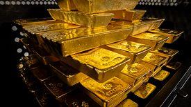 Sztaby złota w skarbcach NBP