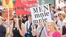 Tysiące nauczycieli rozpoczęło protest 8 kwietnia. Wielu nie prowadziło zajęć  z innego powodu - zwolnienia lekarskiego