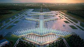 Jedna z wizualizacji lotniska wchodzącego w skład Centralnego Punktu Komunikacyjnego.
