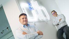 OTB Ventures chce zainwestować 100 mln dolarów w regionie. Na zdjęciu Marcin Hejka (z lewej) oraz Adam Niewiński (z prawej) - twórcy funduszu