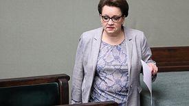 Warszawa, 04.04.2019. Minister edukacji Anna Zalewska w Sejmie.