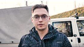 """""""84 zł za godzinę. Normalnie praca marzeń"""", opowiada Daniel Grzyb"""