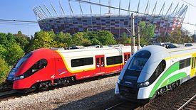 Warszawiacy znają pociągi Pesy z SKM i Kolei Mazowieckich. Ale nowych pociągów na razie nie będzie