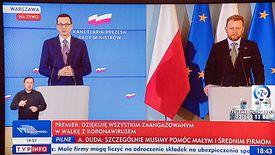 Premier Mateusz Morawiecki zapewnił, że ustawy przygotowane przez rząd ograniczą skutki kryzysu