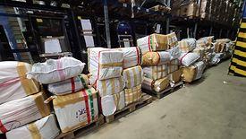 Funkcjonariusze skonfiskowali ponad 30 tys. sztuk podrobionych towarów i 70 kg melasy tytoniowej