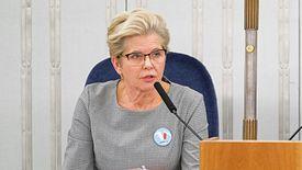 Senator Małecka-Libera, sprawozdawca specustawy koronawirusowej w Senacie