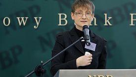 Prof. Małgorzata Iwanicz-Drozdowska, po lewej, jeszcze niedawno działała w radzie nadzorczej Alior Banku. Dziś jest w KNF - który przygląda się działaniom banku