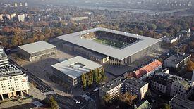 Tak ma wyglądać nowy stadion w Stolicy.