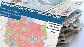 Jedna czwarta mieszkańców na większości terytorium Polski zarabia mniej niż 2600 zł brutto